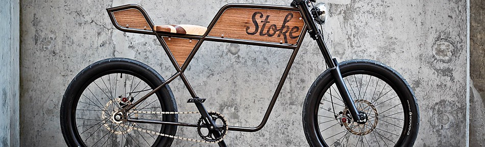 Martin Aveyards Café Bike