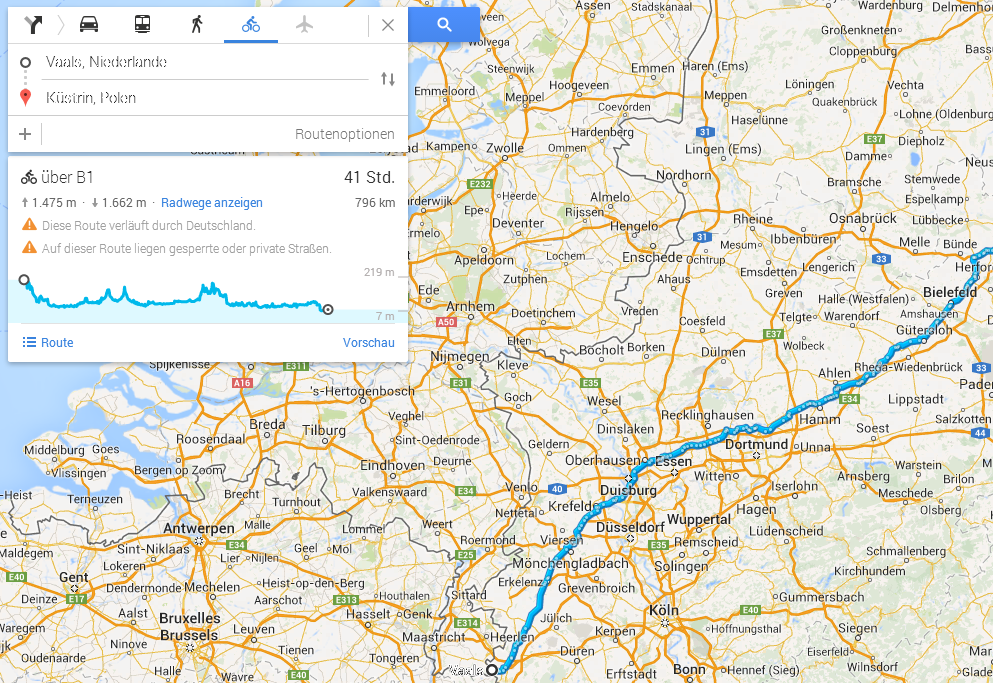 jugendstilBikes Google Maps