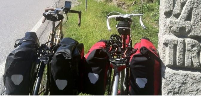 Ich packe meine Fahrradtaschen