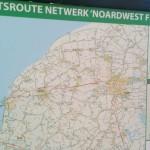 Radwegplan - niederländische Radverkehrsnetz