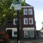 Hinweisschilder - niederländische Radverkehrsnetz