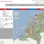 Übersicht online Planer - niederländische Radverkehrsnetz