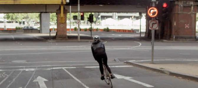Fünf fixierte Fahrradfahrerinnen – das Video