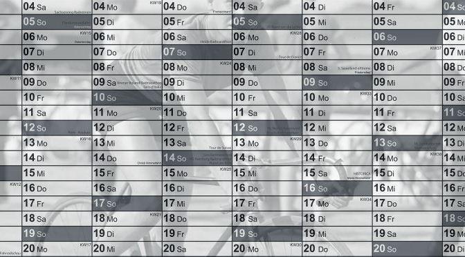 Jugendstilbikes Termine Wandkalender2015 Header