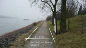 jugendstilBikes Radwegmaßnahmen Sommer 2015 Wittlaer