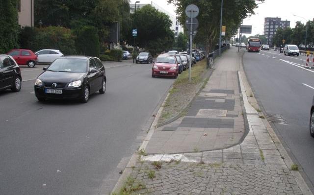 jugendstilBikes Schlechter Radweg Header