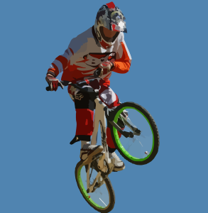 JugendstilBikes Grüßen Mountain Biker