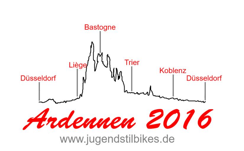 JugendstilBikes Ardennen 2016