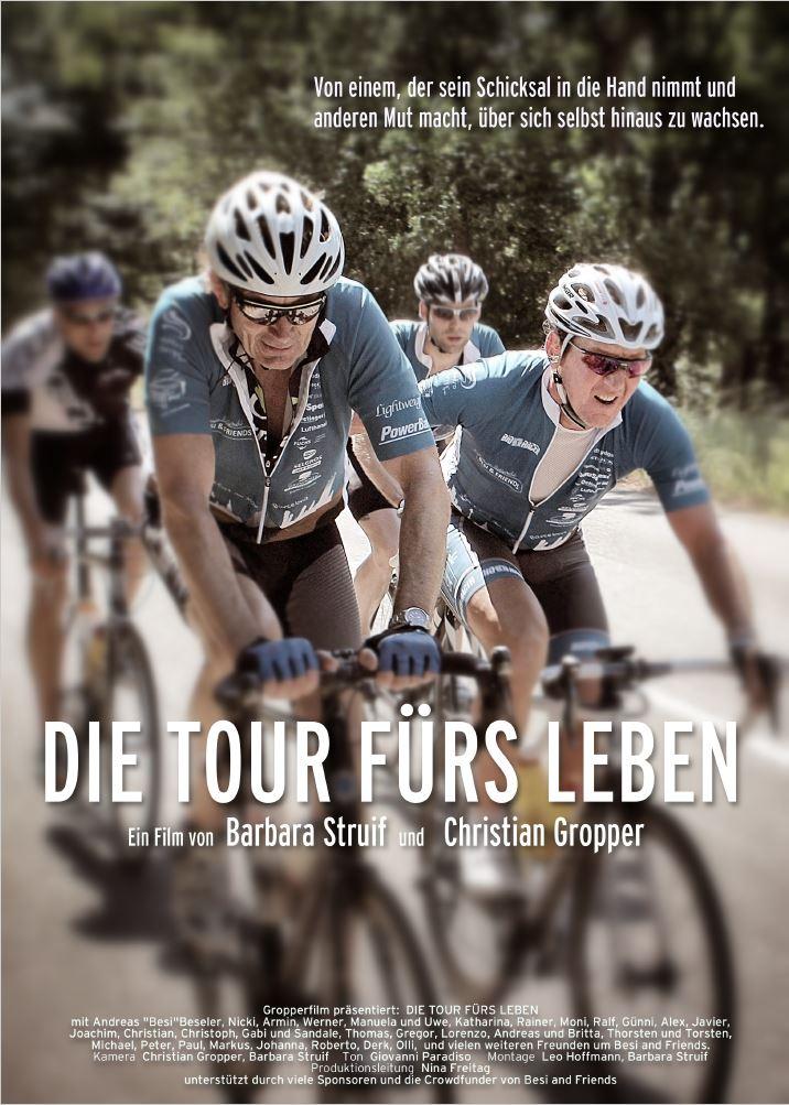 """Plakat """"Die Tour fürs Leben"""""""
