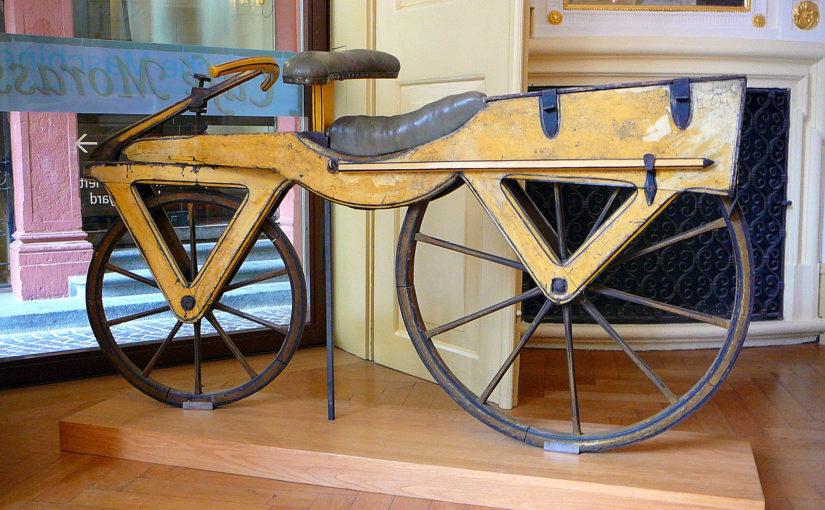 2 Räder – 200 Jahre. Freiherr von Drais und die Geschichte des Fahrrades