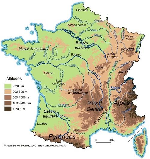 jugendstilBikes Gebirgsregionen Frankreich